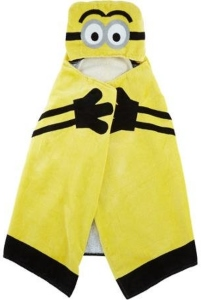 Despicable Me Minion Hooded Towel