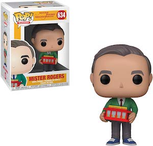 Fred Rogers With Trolley Figurine