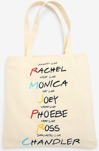 Friends Character Tote Bag