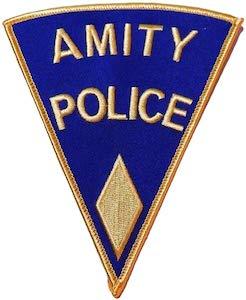Jaws Amity Police Badge