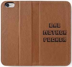 Pulp Fiction Bad Mother iPhone Wallet