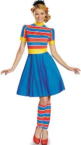 Ernie Women's Dress Costume