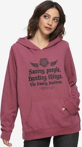 Supernatural Family Business Hoodie