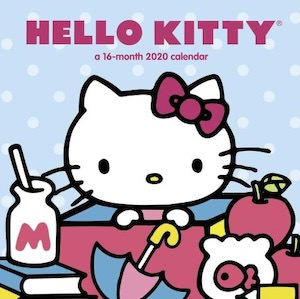 2020 Hello Kitty Wall Calendar
