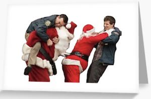 Brooklyn Nine-Nine Christmas Fight Card