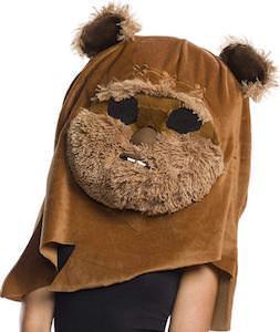 Giant Plush Ewok Head