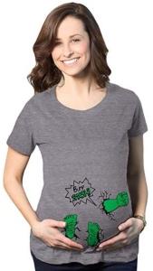 Hulk Bump Smash Maternity T-Shirt