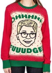 Ralphie Fuuudge Christmas Sweater