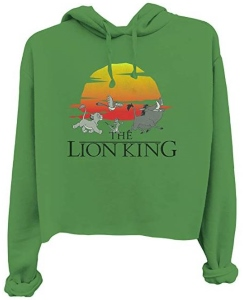 The Lion King Crop Hoodie