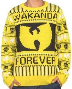 Wakanda Forever Christmas Sweater