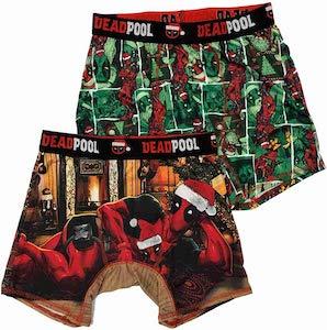 Deadpool Christmas Boxers Set