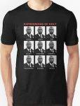 Brooklyn Nine-Nine Expressions Of Captain Holt T-Shirt