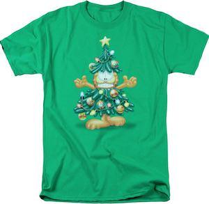 Garfield Christmas Tree T-Shirt