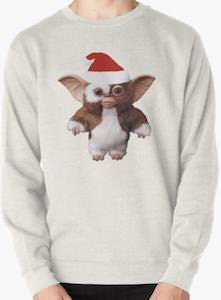 Gizmo With Santa Hat Christmas Sweater