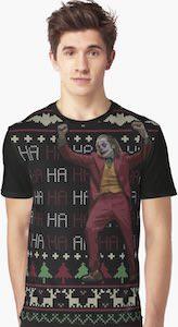 The Joker Ready For Christmas T-Shirt