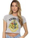 Harry Potter Hogwarts Crest Crop Top