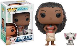 Moana And Pua Figurine Set