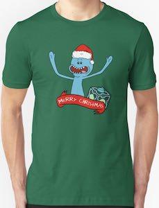 Mr. Meeseeks Christmas T-Shirt