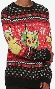 Pikachu Christmas Sweater