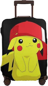 Pikachu Wearing A Hat Suitcase Cover