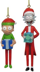 Rick And Morty Festive Ornaments