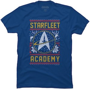 Starfleet Academy Holiday T-Shirt