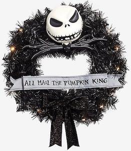 The Nightmare Before Christmas Door Wreath