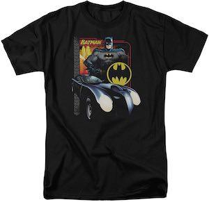 Batman And His Ride T-Shirt