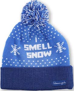 Gilmore Girls I Smell Snow Beanie Hat