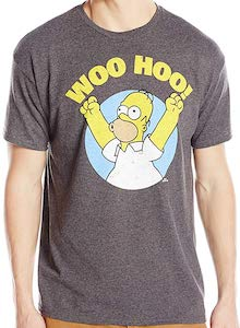 The Simpsons Homer Woo Hoo! T-Shirt