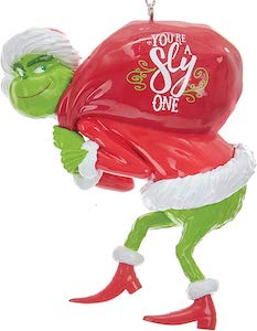 The Grinch Tree Ornament