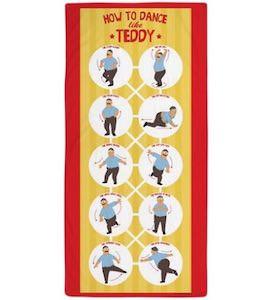 Bob's Burgers Dancing Teddy Beach Towel