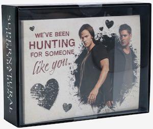Supernatural Valentine's Day Cards Set