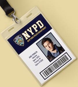 Brooklyn Nine-Nine ID Badge