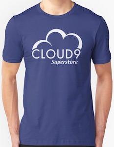 Superstore Cloud 9 Logo T-Shirt