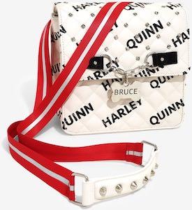 Harley Quinn Bruce Handbag And Backpack