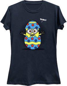 Minion Inside An Easter Egg T-Shirt
