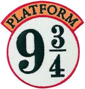 Platform 9 3/4 Clothing Patch