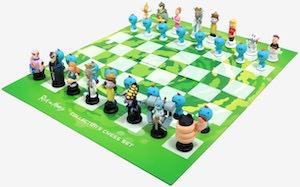 Rick And Morty Chess Set