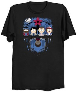 Stranger Things Meets South Park T-Shirt