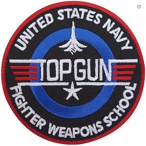 Top Gun Navy Clothing Patch