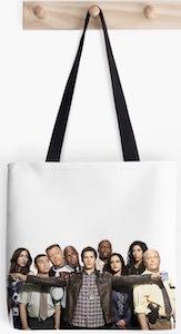 Brooklyn Nine-Nine Cast Tote Bag