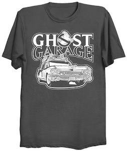 Ghostbusters Ghost Garage T-Shirt