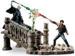Harry And Voldemort Battle Sculpture