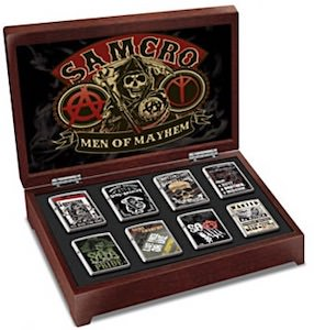 Sons Of Anarchy Zippo Collection