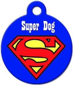 DC Comics Superman Pet ID Tag