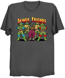 TMNT Sewer Friends T-Shirt