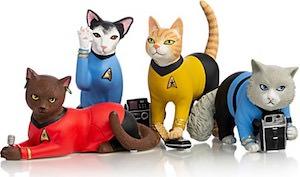 The Cats Of Star Trek