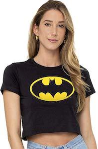 Batman Symbol Crop Top