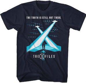 X-Files X Beams T-Shirt